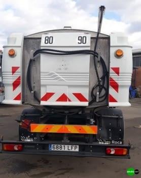 Camión cisterna baldeadora ROSROCA de calles 8000 litros - 4