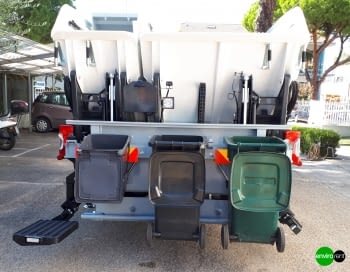Recolector carga trasera ROS ROCA ORUS Bicompartimentado