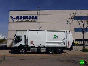 Recolector carga lateral ROS ROCA FARID FMO 25 Euro6 - 1