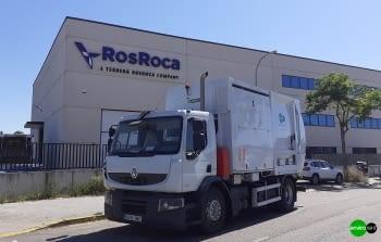 Recolector carga lateral ROS ROCA FARID FMO 17 Euro V
