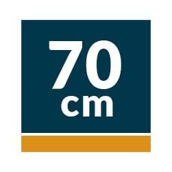 Campana Decorativa Edesa 70 cm