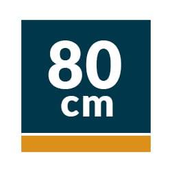 Campanas Telescópicas Extraíbles 80 cm