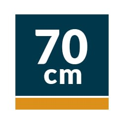 Campanas Telescópicas Extraíbles 70 cm