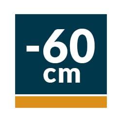 Campanas Telescópicas Extraíbles 60 cm