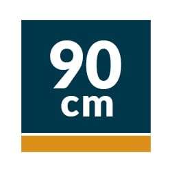 Campana Decorativa AEG 90 cm