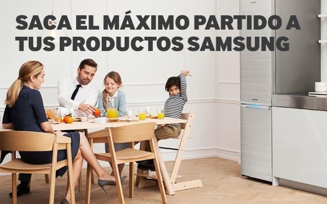 Saca el máximo partido a tu frigorífico Samsung