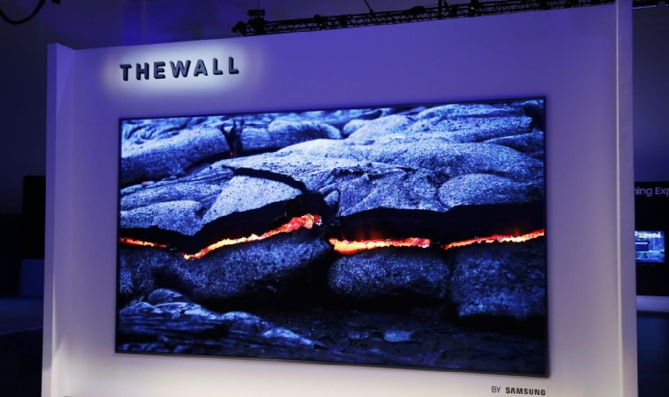 The Wall, un gigantesco televisor MicroLED modular de 146 pulgadas