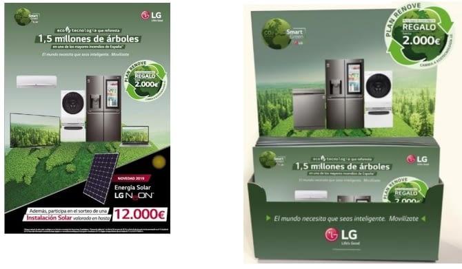 Plan Renove LG Smart Green 2019, cambia de consumo