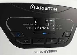 Termo Eléctrico Ariston Lydos Hybrid de 80 y 100L | Bomba de Calor para un mínimo consumo