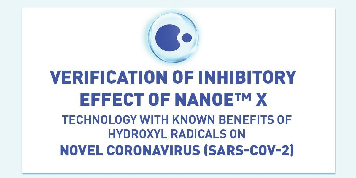 Panasonic recibe el Certificado de Inhibidor del COVID-10