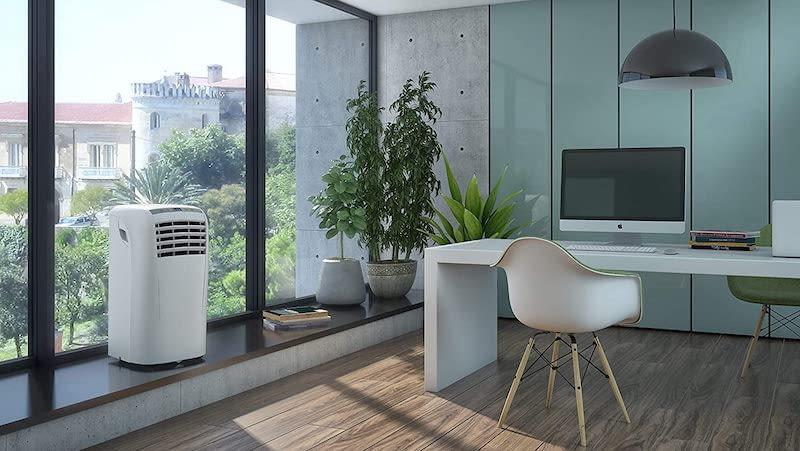 Los aires acondicionados portátiles más silenciosos para este verano (menos de 49 dB)