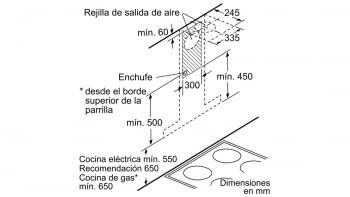 BALAY 3BC998HGC CAMPANA CRISTAL GRIS ANTRACITA 90CM 843M3/H A+ - 9