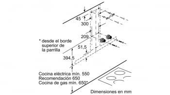 BALAY 3BC998HGC CAMPANA CRISTAL GRIS ANTRACITA 90CM 843M3/H A+ - 10