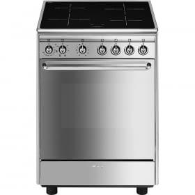 Smeg CX60ISV9 Cocina 60cm Horno Eléctrico y Encimera de Inducción de 4 zonas | Envío Gratis