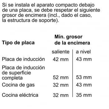 BOSCH CSG636BS3 Horno Compacto 45cm Inox Función Vapor de Gran Capacidad Interior | A+ - 10