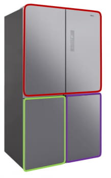 "Teka RMF 77920 SS Frigorífico Inverter 4 Puertas Inox No Frost ""Ion Clean"" | Stock - 3"