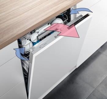 Lavavajillas Electrolux ESF9515LOX | Inox | 60 cm | 14 cubiertos | 3a Bandeja | Motor Inverter | Clase D - 5