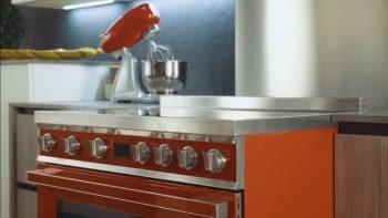 Smeg CPF9IPBL Cocina Portofino Color Negro 90x60cm Horno Pirolítico XXL y 5 Zonas de Inducción - 4
