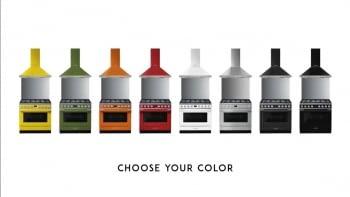 Smeg CPF9IPBL Cocina Portofino Color Negro 90x60cm Horno Pirolítico XXL y 5 Zonas de Inducción - 6