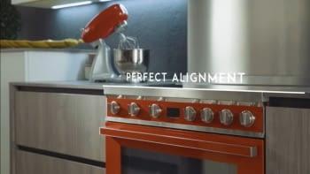 Smeg CPF9IPX Cocina Portofino Inox 90x60cm Horno Pirolítico XXL y 5 Zonas de Inducción - 3