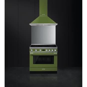 Smeg CPF9IPOG Cocina Portofino Color Verde 90x60cm Horno Pirolítico XXL y 5 Zonas de Inducción - 2