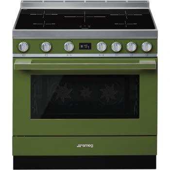 Smeg CPF9IPOG Cocina Portofino Color Verde 90x60cm Horno Pirolítico XXL y 5 Zonas de Inducción - 3