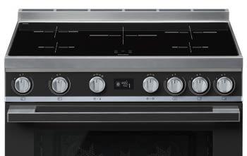 Smeg CPF9IPAN Cocina Portofino Color Antracita 90x60cm Horno Pirolítico XXL y 5 Zonas de Inducción