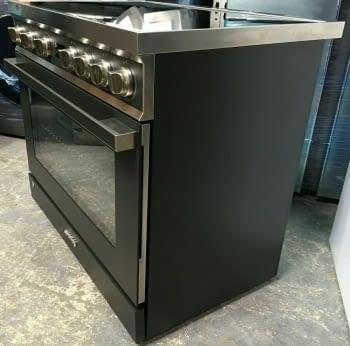 Smeg CPF9IPAN Cocina Portofino Color Antracita 90x60cm Horno Pirolítico XXL y 5 Zonas de Inducción - 2