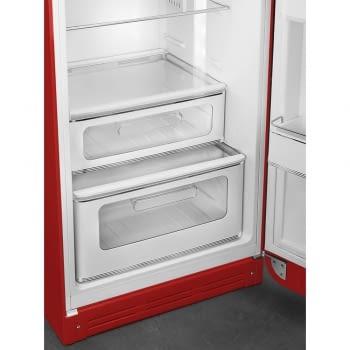 Frigorífico Dos Puertas Smeg FAB30LRD3 Retro Años 50 Color Rojo A+++ 172cm Altura | Apertura Izquierda | ¡Envío Gratis! - 3