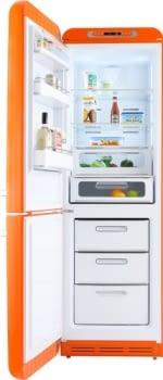 Combi Smeg FAB32LOR3 Naranja No Frost Estética Retro Años 50 A+++ Iluminación Led | Bisagra Izquierda | ¡Envío Gratis! - 2