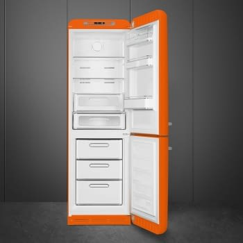 Combi Smeg FAB32LOR3 Naranja No Frost Estética Retro Años 50 A+++ Iluminación Led | Bisagra Izquierda | ¡Envío Gratis! - 5