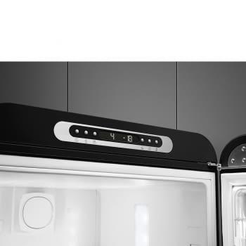 Frigorífico Combi Retro Negro Smeg FAB32LBL5 | Estética Años 50 | Apertura Izquierda | Envío + Instalación + Retirada Gratis - 3