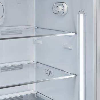 Frigorífico-Congelador Retro Negro Smeg FAB28RBL5   Estética Años 50   Apertura Derecha   Envío + Instalación + Retirada Gratis - 6