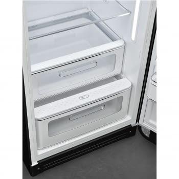 Frigorífico-Congelador Retro Negro Smeg FAB28RBL5   Estética Años 50   Apertura Derecha   Envío + Instalación + Retirada Gratis - 7
