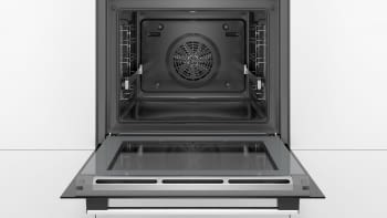 Horno Bosch HBG5780S0 Pirolítico | Inox Antihuellas | 30 Recetas | Calentamiento 3D Profesional | Display LCD - 3
