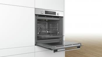 Horno Bosch HBG5780S0 Pirolítico | Inox Antihuellas | 30 Recetas | Calentamiento 3D Profesional | Display LCD - 4