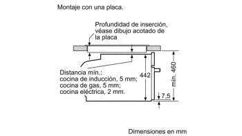 Bosch CMG633BB1 Horno Microondas Compacto 45cm Cristal Negro | Cocción 4D Horno+Micro | Promocionado - 2