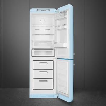Frigorífico Combi Retro Azul Celeste Smeg FAB32RPB5 | No Frost | Años 50 | Bisagra Derecha | Envío + Instalación + Retirada Gratis - 3