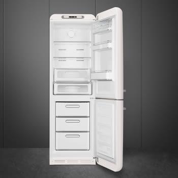 Combi Smeg FAB32RWH3 Blanco No Frost Estética Retro Años 50 A+++ Iluminación Led | Bisagra Derecha | ¡Envío Gratis! - 3