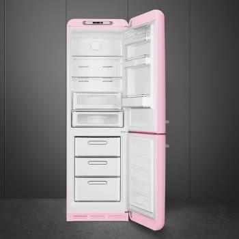 Combi Smeg FAB32RPK5 Rosa No Frost Estética Retro Años 50 A+++ Iluminación Led | Bisagra Derecha | ¡Envío Gratis! - 3