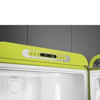 Frigorífico Combi Retro Verde Pistacho Smeg FAB32RLI5   No Frost   Años 50   Clase D   Iluminación Led   Bisagra Derecha   Envío + Instalación + Retirada Gratis - 5