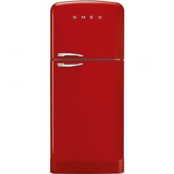 SMEG FAB50RRD Frigorífico 2P Color Rojo No Frost Años 50 Bisagra Derecha A++ ¡Envío Gratis! - 1