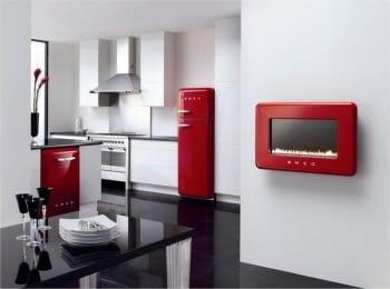 SMEG FAB50RRD Frigorífico 2P Color Rojo No Frost Años 50 Bisagra Derecha A++ ¡Envío Gratis! - 3
