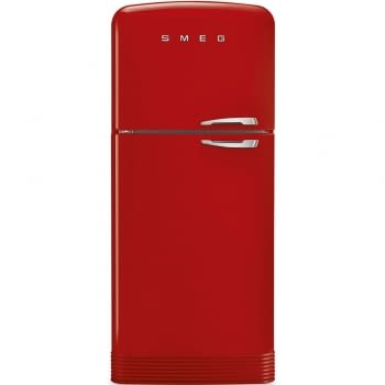 SMEG FAB50LRD Frigorífico 2P Color Rojo No Frost Años 50 Bisagra Izquierda A++ ¡Envío Gratis!