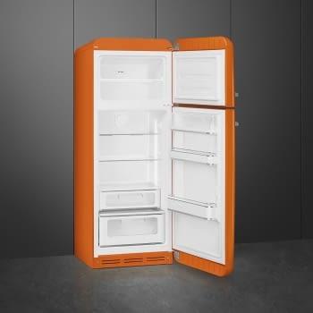 SMEG FAB30ROR3 Frigorífico 2P Color Naranja No Frost Años 50 Bisagra Derecha A+++ | ¡Envío Gratis! - 2