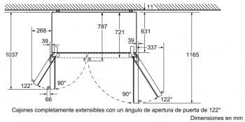 Side by Side Siemens KA92DHXFP Frigorífico Americano | Dispensador puerta | Promocionado | Envío + Instalación + Retirada Gratis - 5