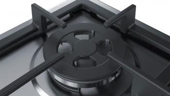 Placa de Gas Natural Bosch PGH6B5B90 Inoxidable de 60 cm con 4 Quemadores de Gas | Serie 4/STOCK - 2