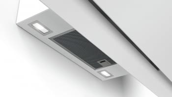 Campana decorativa de pared Bosch DWK97JM20 en Cristal Blanco de 90 cm a 722 m³/h | Motor EcoSilence Clase A+ | Serie 6 - 5