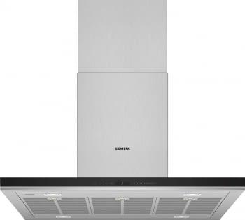 Siemens LF91BUV50 Campana de techo isla 90cm Plateada | iQ700