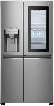 Frigorífico Americano LG GSI960PZAZ Inox Antihuellas Door in Door Dispensador agua y hielo Wifi | Clase F